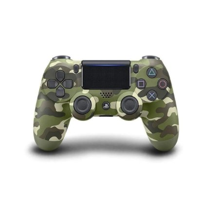 Controle Playstation 4 Ps4 Dualshock Sony - Green Camouflage