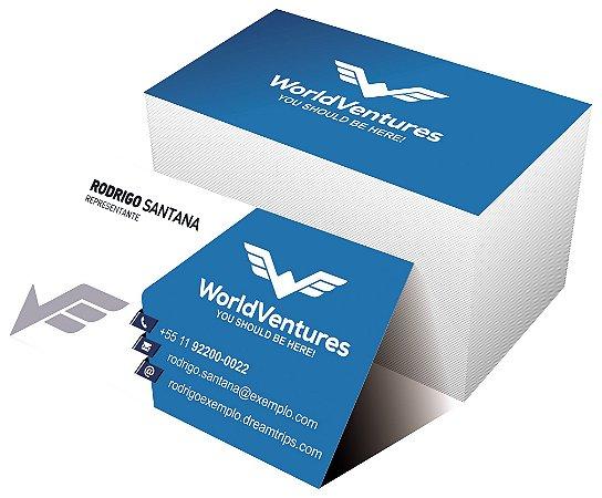 Cartão de Visita - WorldVentures | DreamTrips - Modelo 3