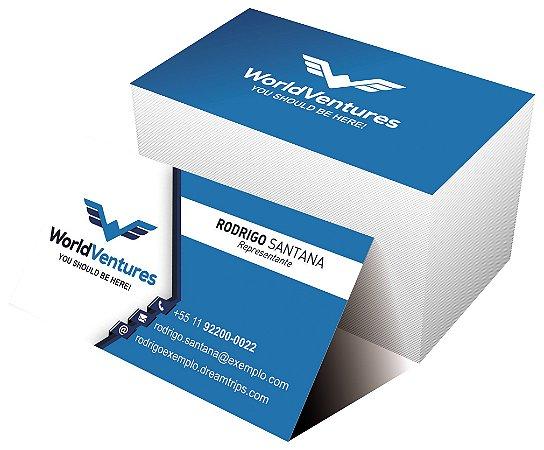 Cartão de Visita - WorldVentures | DreamTrips - Modelo 4