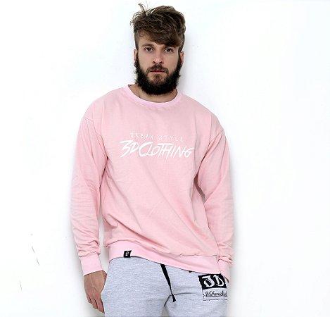 blusa moletom rosa claro swag street wear - 3D Clothing - Camisetas ... a5984e131f5