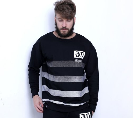 Blusa Moletom Degradê Urban Style 3D Clothing