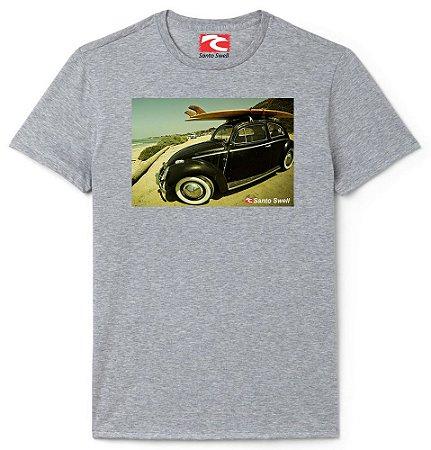 Camiseta Santo Swell Fuscão Black Surfista Estampada Manga Curta 7 Cores