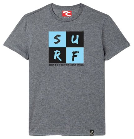 Camiseta Santo Swell Surfer Chess Estampada Manga Curta 3 Cores