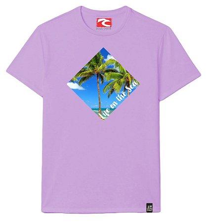 Camiseta Santo Swell Life on the Sea Estampada Manga Curta 3 Cores