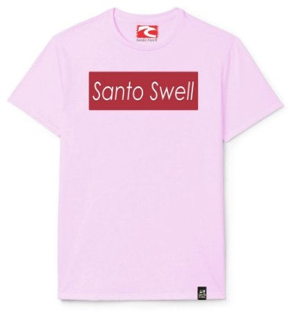 Camiseta Santo Swell Writing on Board Estampada Manga Curta 5 Cores