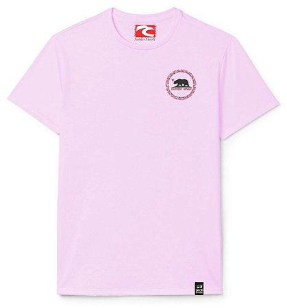 Camiseta Santo Swell Loguinho Califa Estampada Manga Curta 5 Cores