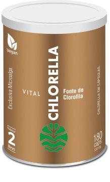 Vital Chlorella - 180 Cápsulas