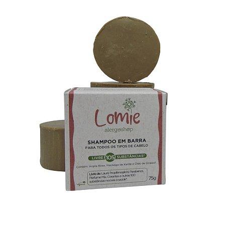 Shampoo Hidratante em barra Lomie Alergoshop