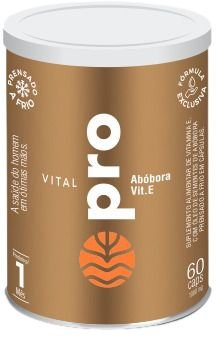 Vital Pró - Óleo de Sementes de Abóbora - 60 Caps de 1.000 mg