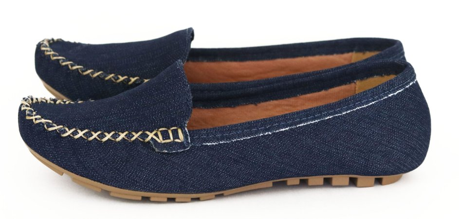 Mocassim Jeans