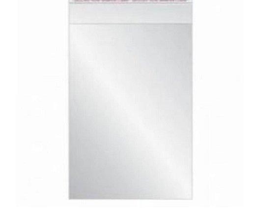 Sacola plástica 7cm x 10cm - com 100 unidades