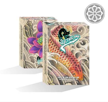 Lápis de cor Profissional para Desenho - 68 cores