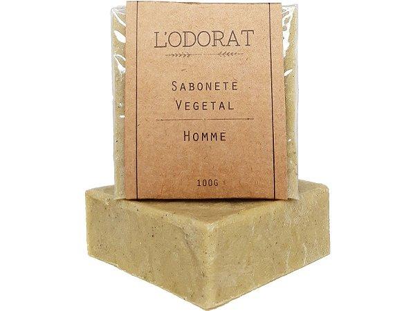 Sabonete Vegetal em Barra Homme 100 G (Masculino)