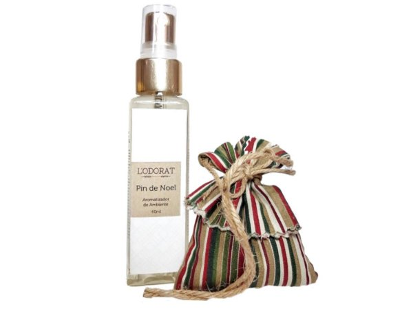 Kit - Sachê Perfumado + Home Spray - Pin de Noel - 60 ml