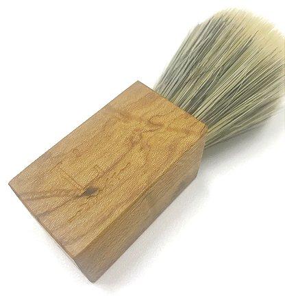 Pincel de Barba - Madeira de Reaproveitamento