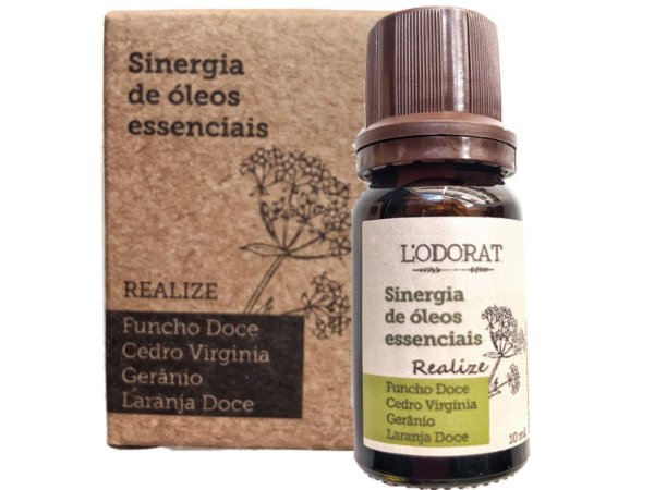 Sinergia de Óleos Essenciais - REALIZE - 10 mL