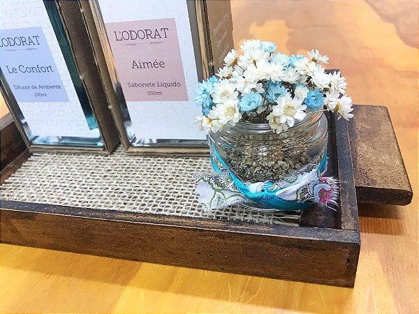 Kit Lavabo Flores Perfumadas