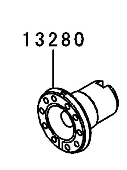 FIXADOR INTERRUPTOR NEUTRO - 13280-0183