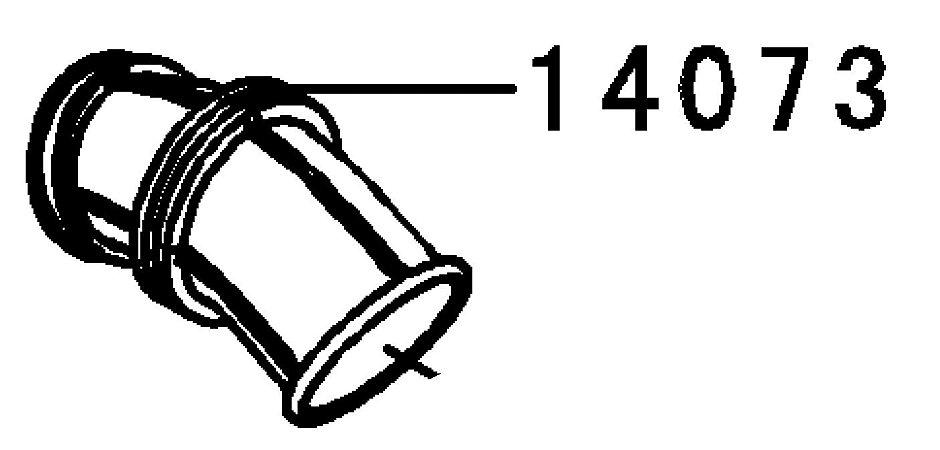 DUTO CARBURADOR - 14073-0179