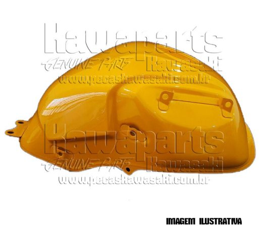 TANQUE COMBUSTIVEL AMARELO VERSYS 650 - 51001-0387-15G