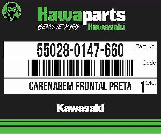 CARENAGEM FRONTAL PRETA Z750 - 55028-0147-660
