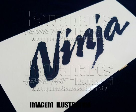 ADESIVO CARENAGEM SUP NINJA - 56054-0059