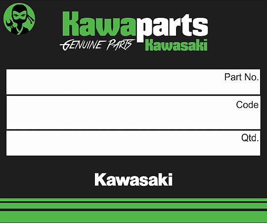 ADESIVO CARENAGEM INF ESQ KAWASAKI - 56054-1324