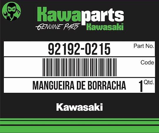 TUBO (MANGUEIRA) DE BORRACHA VULCANIZADA NAO ENDURECIDA - 92192-0215