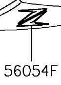 ADESIVO, PROTETOR, Z - 56054-1914