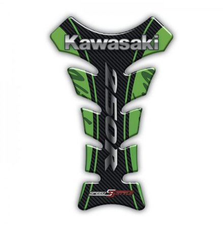 ADESIVO RESINADO TANK PAD KAWASAKI NINJA 250 - TPKW5603G017