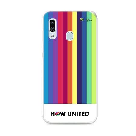 Capinha para Galaxy A30 - Now United 2