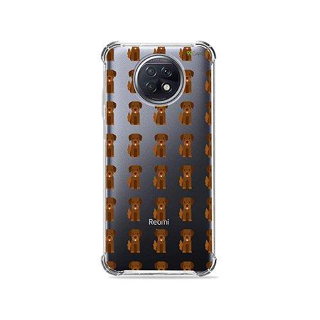 Capa (Transparente) para Xiaomi Redmi Note 9T - Golden