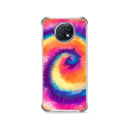 Capa para Xiaomi Redmi Note 9T - Tie Dye Roxo