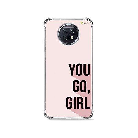 Capa para Xiaomi Redmi Note 9T - You Go, Girl