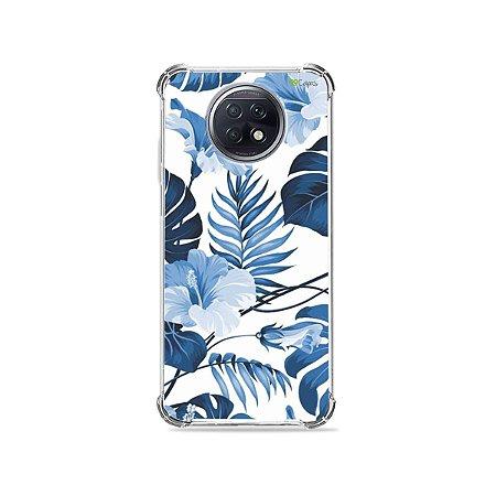Capa para Xiaomi Redmi Note 9T - Flowers in Blue