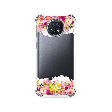 Capa (Transparente) para Xiaomi Redmi Note 9T - Botânica