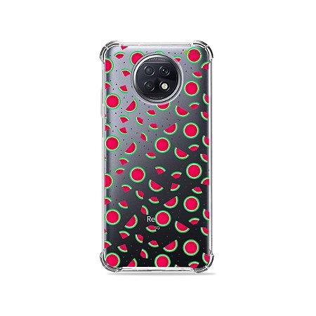 Capa (Transparente) para Xiaomi Redmi Note 9T - Mini Melancias