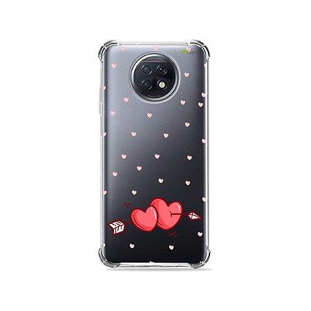 Capa (Transparente) para Xiaomi Redmi Note 9T - In Love