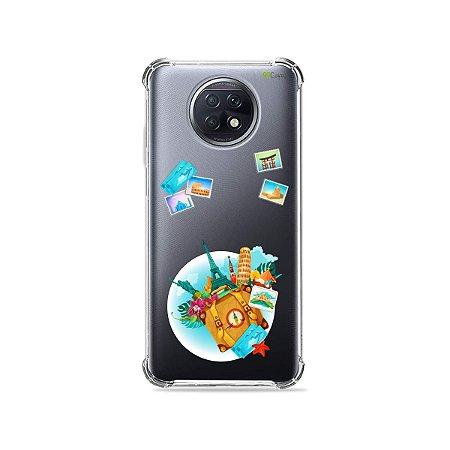 Capa (Transparente) para Xiaomi Redmi Note 9T - Memórias
