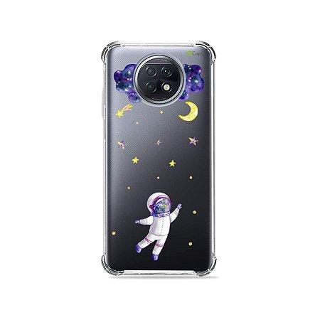 Capa (Transparente) para Xiaomi Redmi Note 9T - Astronauta Sonhador