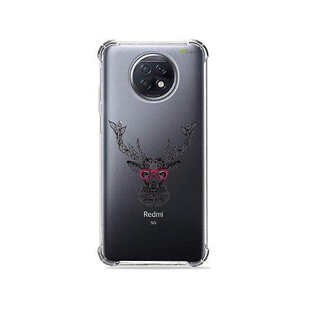 Capa (Transparente) para Xiaomi Redmi Note 9T - Alce Hipster