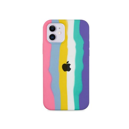 Silicone para iPhone 12 Mini - Listras Candy