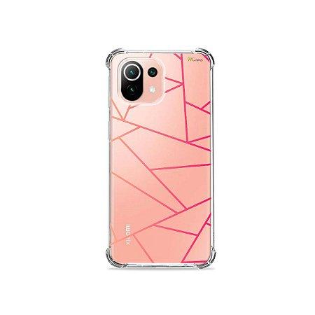 Capa (Transparente) para Xiaomi Mi 11 Lite - Abstrata