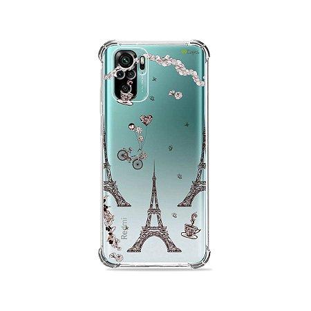 Capa (Transparente) para Xiaomi Redmi Note 10 4G - Paris