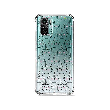 Capa (Transparente) para Xiaomi Redmi Note 10 4G - Catcorn