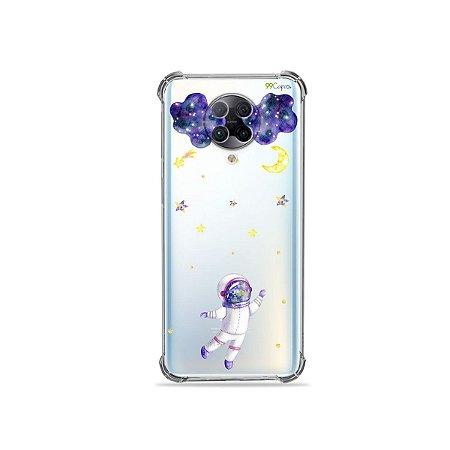Capa (Transparente) para Xiaomi Poco F2 Pro - Astronauta Sonhador