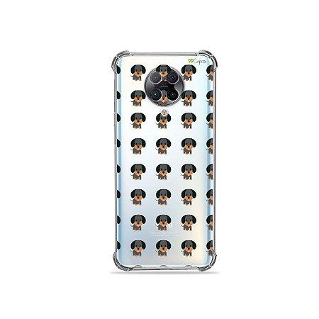 Capa (Transparente) para Xiaomi Poco F2 Pro - Salsichinha