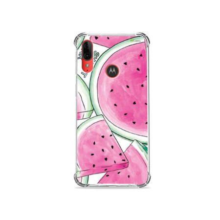 Capa para Moto E6 Plus - Watermelon