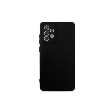 Silicone Case Preta para Galaxy A72 - 99Capas