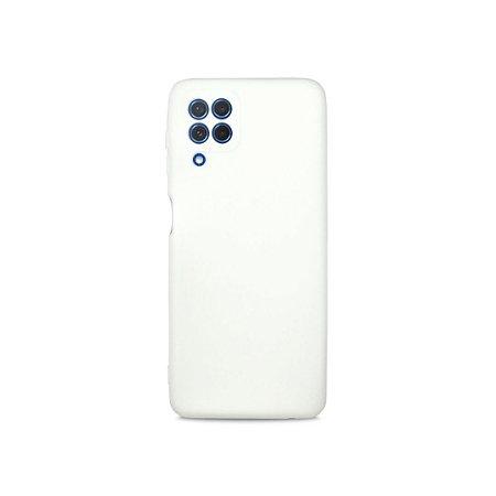 Silicone Case Branca para Galaxy A22 4G - 99Capas